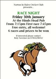 Race night 2015