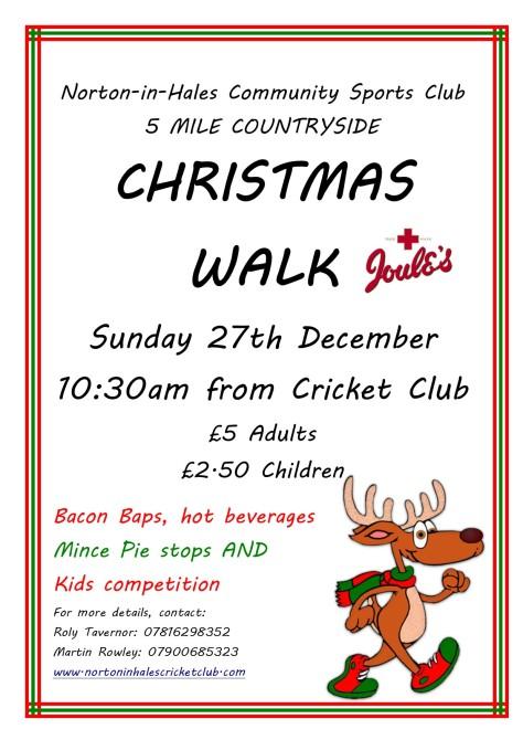 Christmas walk 2015 poster